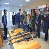 Студенты Коломенского института на экскурсии в Управление МВД России по Коломенскому городскому округу