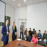 сотрудники Отряда пограничного контроля ФСБ РФ  в Коломенском Политехе